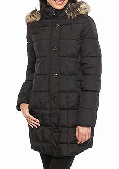 Anne Klein Snap Button Casual Coat