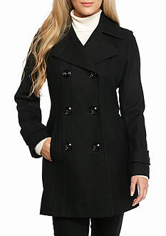 Anne Klein Wool Walker Coat