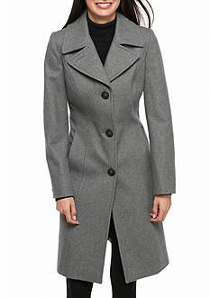 Anne Klein Princess Seam Button Down Pea coat