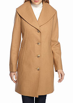 Anne Klein Mid-Length Portrait Peacoat