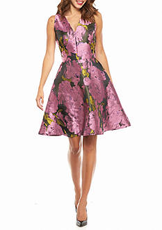 Ronni Nicole Floral Printed Party Dress