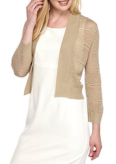 Ronni Nicole Topper Ponte Sweater