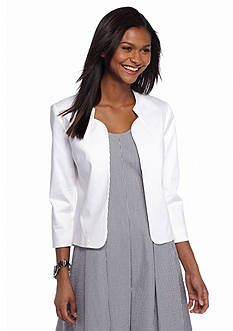 Tahari ASL Three-Quarter Sleeve Jacket