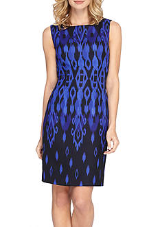 TAHARI™ Printed Sheath Dress