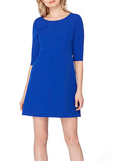 Tahari ASL Sheath Crepe Dress
