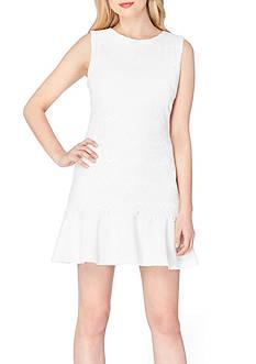 Tahari ASL Lace Drop-waist Dress