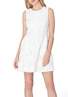 Tahari ASL Sleeveless Lace Sheath Dress