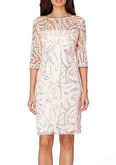 Tahari ASL Lace Sheath Dress