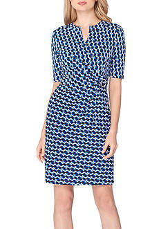 Tahari ASL Jersey Sheath Dress