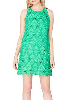 Tahari ASL Lace Shift Dress