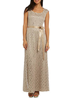 RM Richards Long Lace Dress