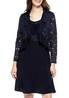 RM Richards Lace Jacket Dress