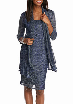 RM Richards Shimmer Jacket Dress