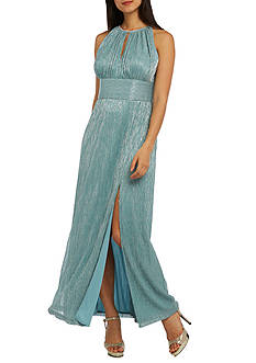 RM Richards Metallic Knit Gown