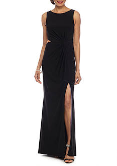 Betsy & Adam Cutout Knot Gown