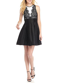 Belk & Co. Lace Bodice Party Dress