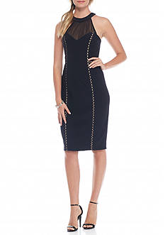 Belk & Co. Halter Sheath Dress