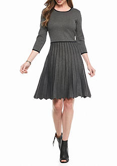 Taylor A-line Sweater Dress