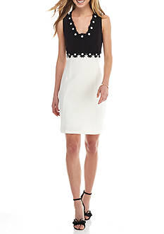 Taylor Colorblock A-line Dress