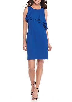 Taylor Asymmetrical Popover Dress