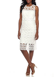 Taylor Crochet Lace Dress