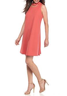 Taylor Crepe A-Line Dress