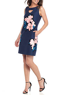 Taylor Cut-Out Sheath Dress
