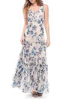 Taylor Floral Printed Maxi Dress