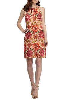 Taylor Floral Printed Swing Dress