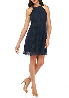 Taylor Lace Halter Dress