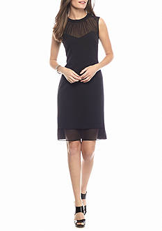 AK Anne Klein Sleeveless Sheath Dress