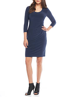 Anne Klein Jersey Sheath Dress