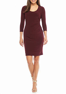 Anne Klein Jersey Sheath Dress