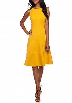 Anne Klein Sleeveless Drop-waist Dress
