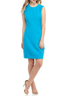 Anne Klein Lace Inset Sheath Dress