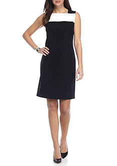 Anne Klein Colorblock Sheath Dress