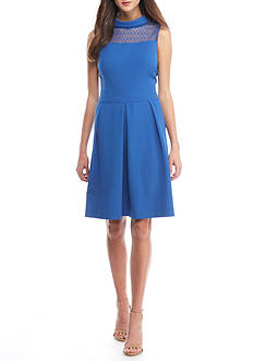 Anne Klein Cowl Neck Sheath Dress