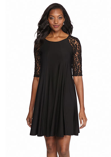 Julian Taylor Jersey Trapeze Dress