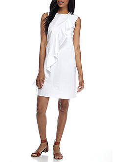 Spense Ruffle Shift Dress