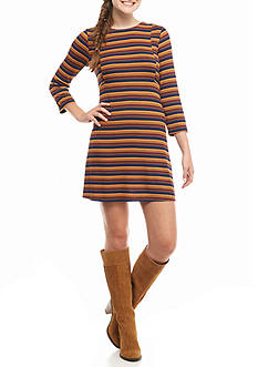 Speechless Striped Knit Dress