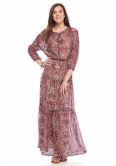 Speechless Tiered Prairie Dress