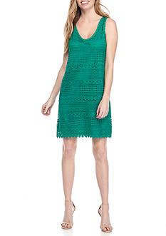 Tiana B Crochet Sheath Dress