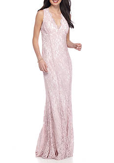 Morgan & Co Sweetheart Lace Gown