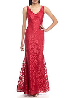 Xscape Lace Mermaid Gown
