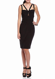 Xscape Strappy Sheath Dress