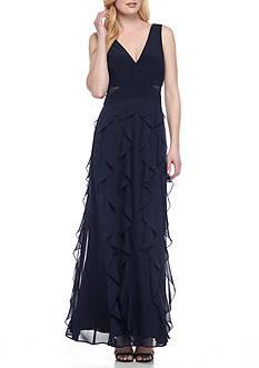 5efa056e2129 Xscape Ruffle Chiffon Gown