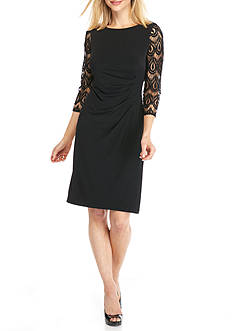 Jessica Howard Jersey Sheath Dress