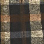 Trendy Womens Clothing: Plaids: Tan Brown Multi J Howard Cowl-Neck Plaid Shift Dress