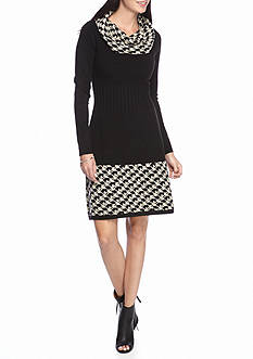 J Howard Cowl Neck Sweater Dress