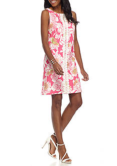 Jessica Howard Floral Shift Dress